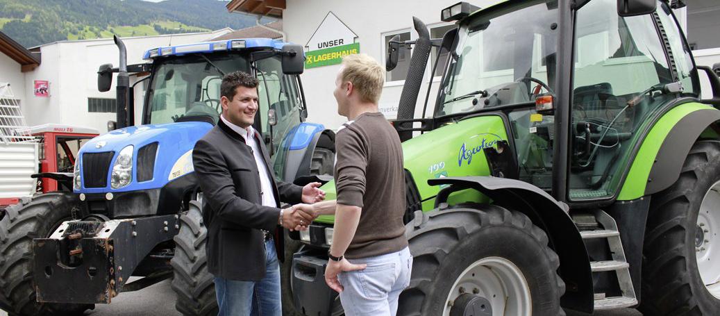 Gernot Kirschner, Gebrauchtmaschinen-Spezialist für Tirol